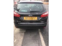 Black Ford Focus Titatium Econetic 2013