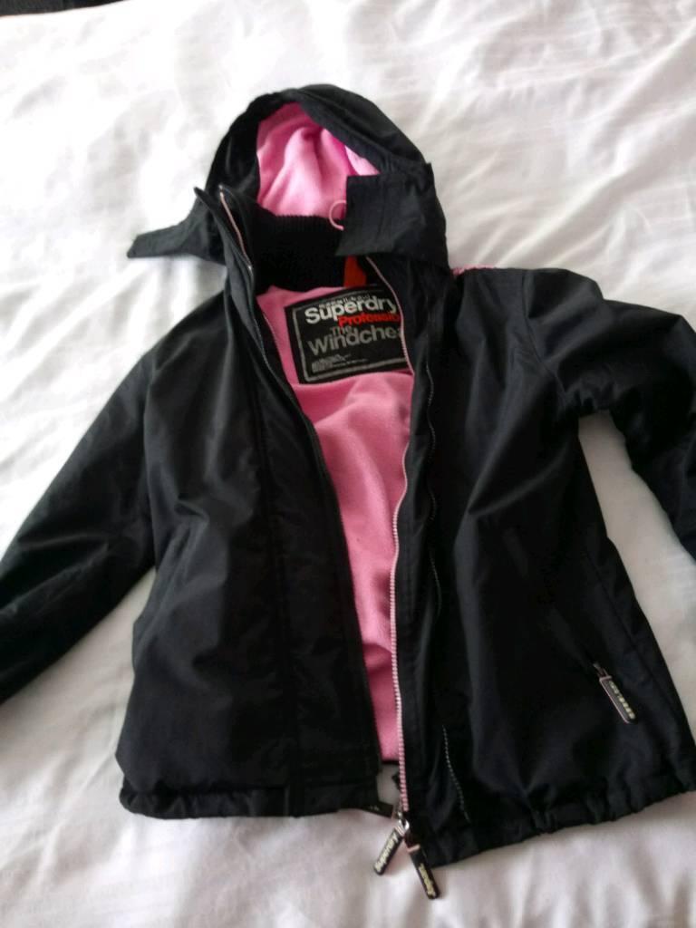Superdry jacket size 8-10
