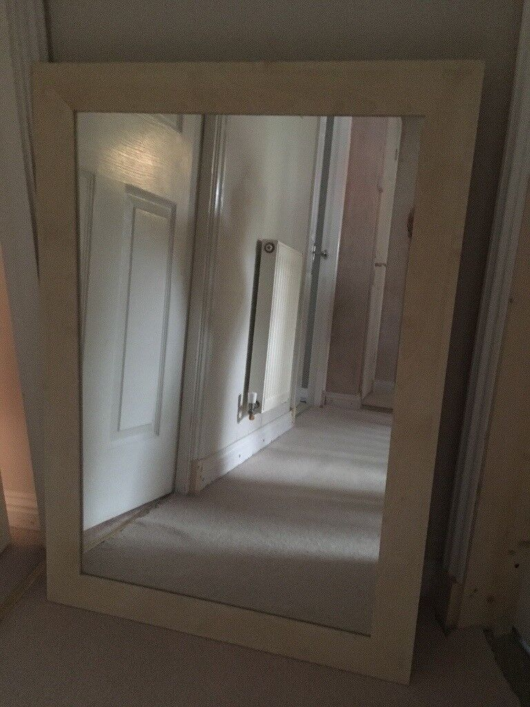 Light wood Ikea mirror