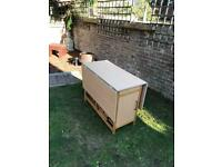 Fold away table with 4 chairs (PENDING COLLECTION)