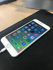 iPhone 6 Plus White 16GB broken screen