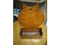 Owl letter rack