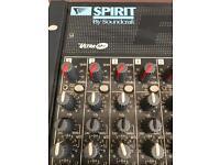 Spirit By Soundcraft FX16 mixing desk