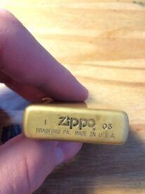 Brass Zippo Lighter 03