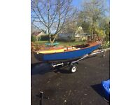 Miracle Sailing Dinghy - Complete with Road Trailer and Launching Trolley