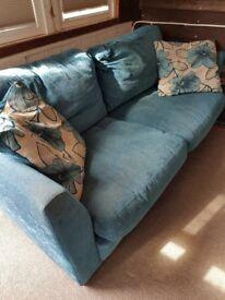 FREE - Teal 2 Seater Sofa