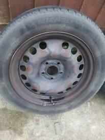 "4x 16"" Vauxhall Wheels 5 stud"