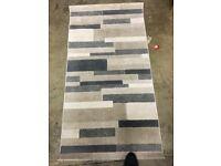 Neutral colours rug