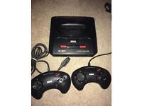 Sega Megadrive 2 console