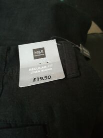 Men's linen trousers size W38 L33