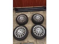 Fiesta Zetec s wheels 4x108