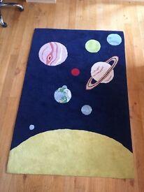 John Lewis Childrens Space Rug (Planet Tufted Rug)