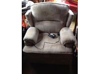 Electric rise recline chair