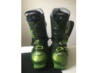 Black Diamond Factor 130 flex ski boots 10.5 size