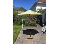 2m Garden Umbrella / Parasol with base