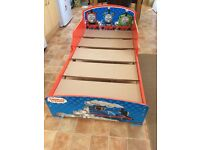 Thomas and Friends Toddler Bed with Silentnight Little Roo Mattress, Great Condition!