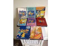 Simpsons DVD's