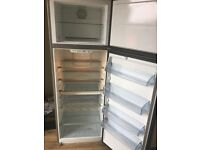 AEG Santo Fridge Freezer silver perfect working order