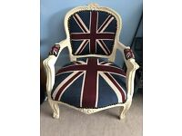 Child's Union Jack Chair