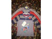 Brand new with tags 12-18 months tops