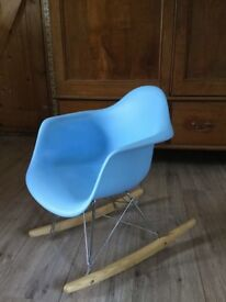 Child's Eames stye rocking chair