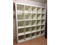 IKEA shelving unit 5x5 KALLAX