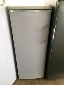 White frost free H 150cm W 55cm freezer good condition with guarantee