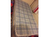 Single bed & mattress