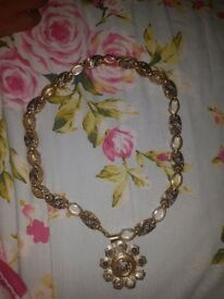 Versace 14ct gold neckle