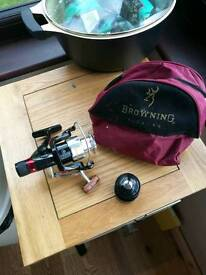 Fishing reel NEVER USED Browning Ambition
