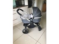 Icandy I candy peach 3 2016 truffle colour model with extras