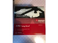 Brand new Manfrotto XPro 3 way head