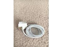 Apple charger lead
