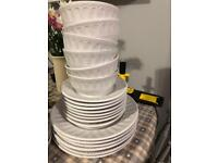 Complete 8 place setting