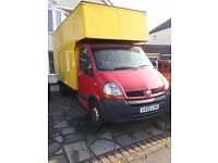 Renault master luton, very reliable!
