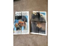 Telegraph supplement the day after 9-11