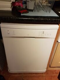 Large dishwasher