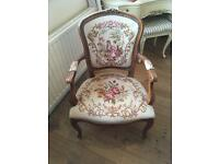 Antique Wooden Arm Chair