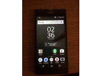 Sony xperia z5 compact black EE