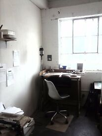 CREATIVE STUDIO SPACE / WORKSHOP FOR SHARE IN DALSTON LANE, HACKNEY