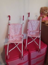 Toy pram 2 available (twins)