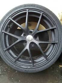 """Set of 18"""" alloys with tyres 5/112"""