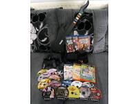 Playstation 2 - Guitar - Camera & Games
