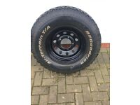land rover defender parts on offer wheel with bfgoodrich tyres rims fits most 4x4 read the ad fully