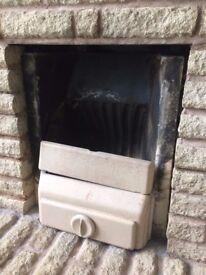 Open Fireplace-Fire Basket Grate-Vintage Fireplace