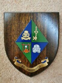 Heraldic Shield, Girl Guide Association