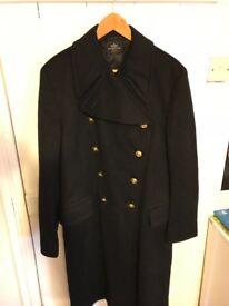 Naval Officers Doe Skin Great Coat