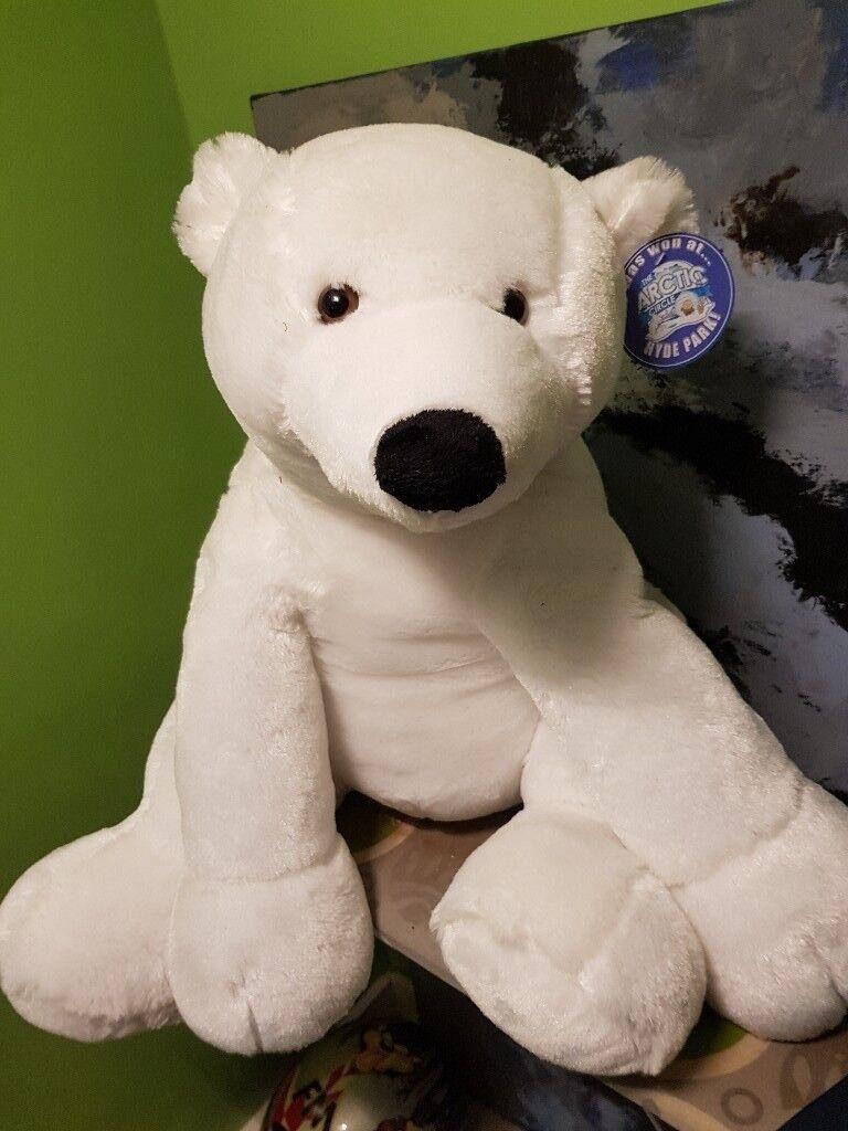 H&m White bear xlarg size