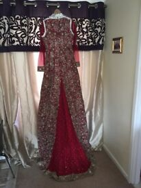 Stunning pakistani/Indian wedding dress