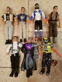 Action Man Figures (7 in total)